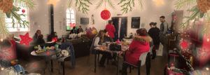 Bring and Share Christmas gathering @ Old Chapel Cafe