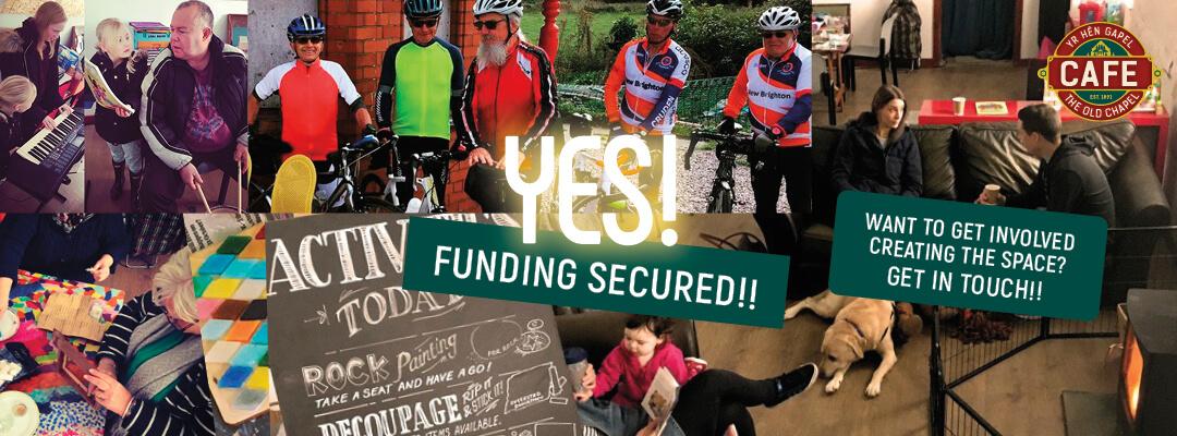 we have funding header